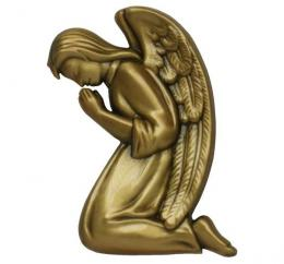 KNEELING ANGEL BRONZE RIGHT